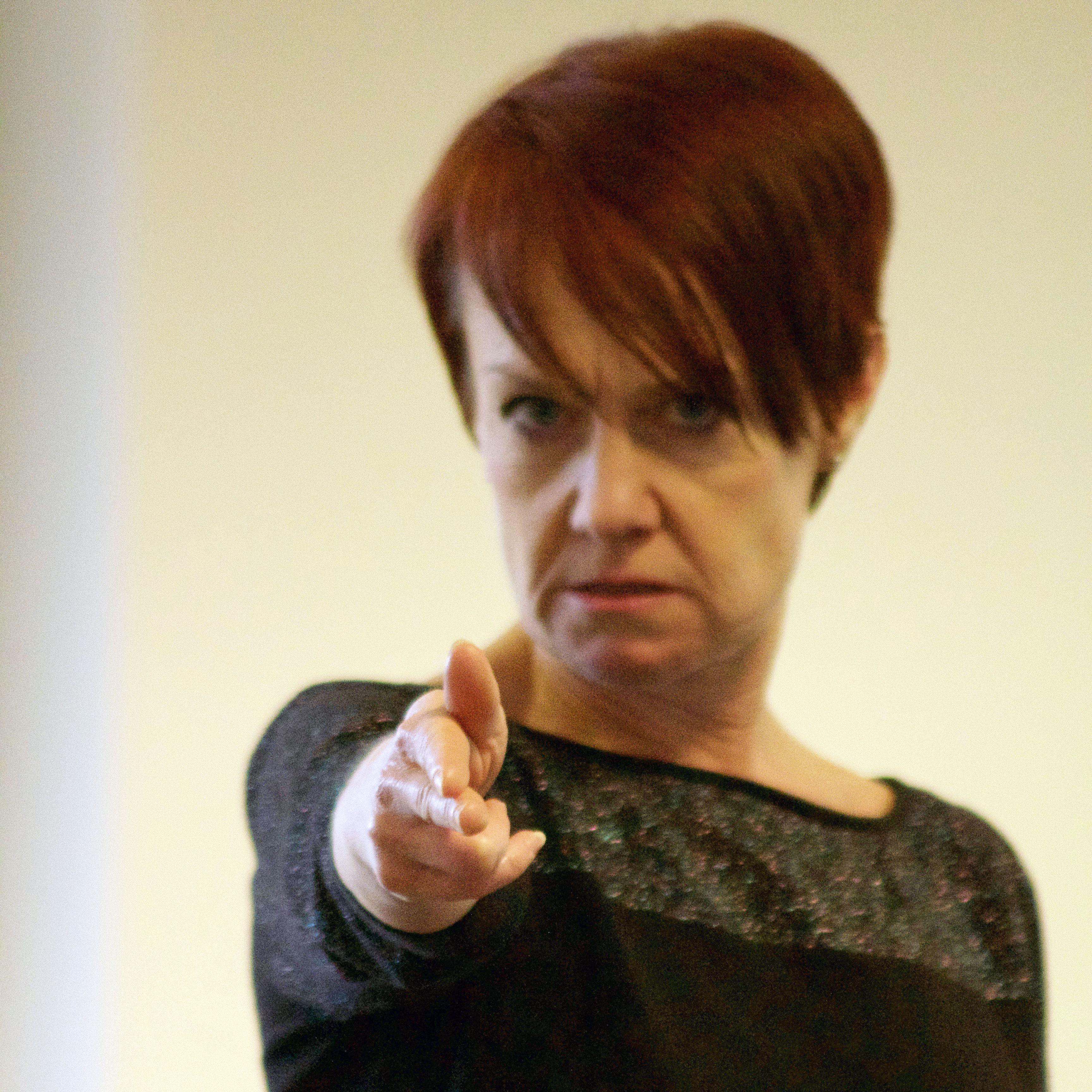 Revenge - Kate Ashmead in rehearsals